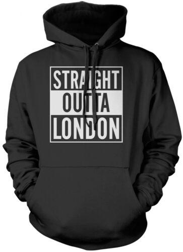 Straight Outta Londra-Dre Compton REGALO ENGLAND Felpa Con Cappuccio Unisex