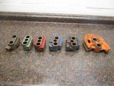 Parker Lakeland 624 824 632 Tubing Bender 6 Radius Block Set 68 10 12 14 16
