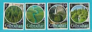 Gibraltar-aus-2011-postfrisch-MiNr-1421-1424-Der-Wald