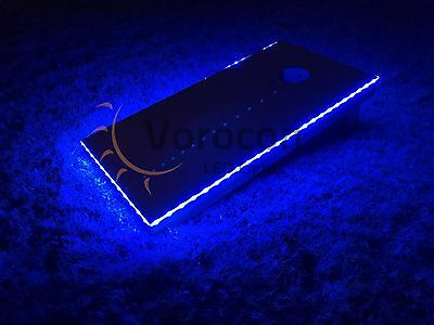 2pc LED Cornhole Edge Lights MIX//MATCH COLORS! Corn Hole Bean Bag Toss Baggo
