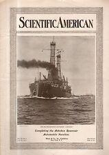 1914 Scientific American July 18 - Ashokan Reservoir; Schmitt and R.E. Biplanes
