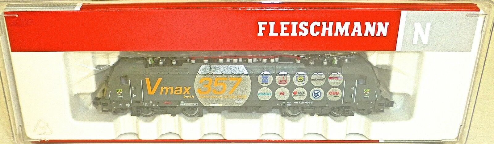 ÖBB Reihe 1216 Elektrolok EpV DSS Fleischmann 731216 N 1 160 OVP NEU  HS3 µ