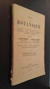 Corso Di Botanica G.BONNIER-L. Del Sablon Fascicolo VI Parigi Spilla ABE