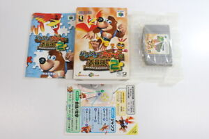 Banjo-Tooie-Kazooie-2-Boxed-Nintendo-64-N64-Japan-Import-US-Seller-E1493