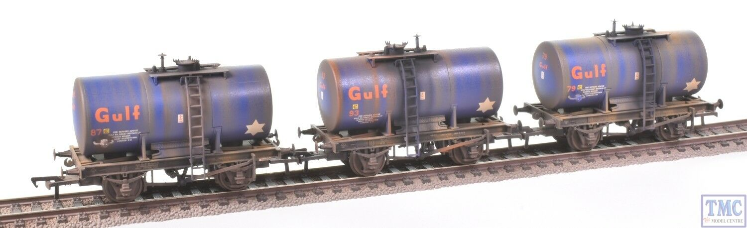 38-776Z Bachmann OO 20T Anchor-Mounted TankWagons-TMC Limited- Deluxe Weathering