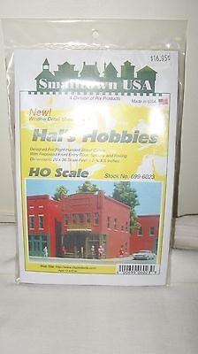 Smalltown USA HO Scale City Buildings Hal's Hobbies Kit Item #699-6023 New