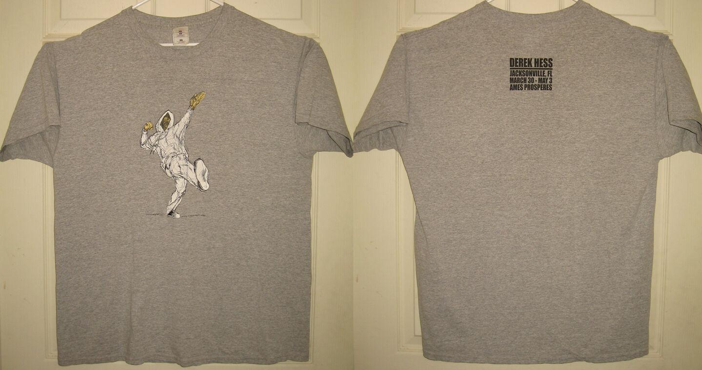 DEREK HESS Shirt XL 2002 Ames Properes Jacksonville FL Vintage VTG OOP RARE HTF