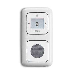 Busch-Jaeger-Bluetooth-Radio-Komplett-Set-8217-U-8217U-Lautsprecher-2f-Alpinweiss