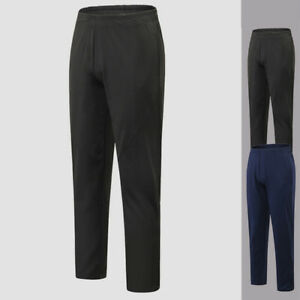 Men-039-s-Athletic-Workout-Fitness-Long-Pants-with-Pockets-Gym-Running-Trousers