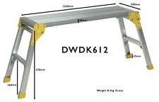 1200mm Prodec Schwer Dienst Umklappbar Alu Workstand 1240mm x 70 mm DWDK612