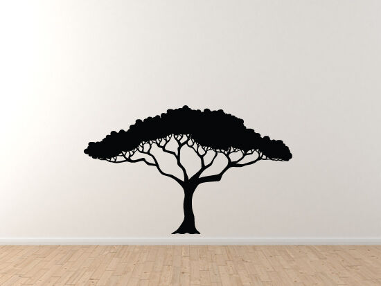 Natural Landscapes - Carribean Tropical Tree - Vinyl Wall Decal