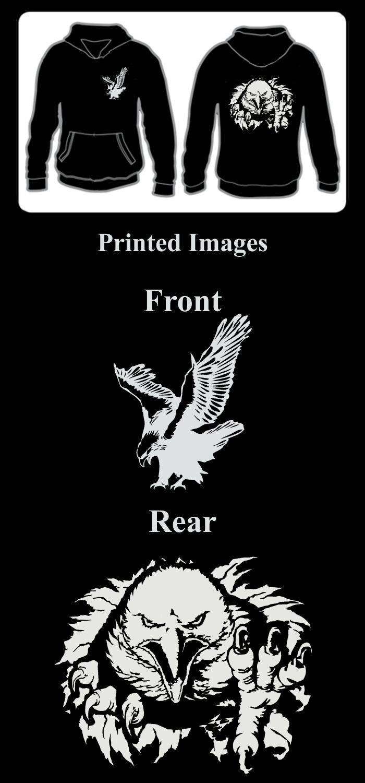 SANCTUARIES EDGE HOODY FALCON HAWK EAGLE HUNTING BIRD OF PREY OSPREY RAPTOR