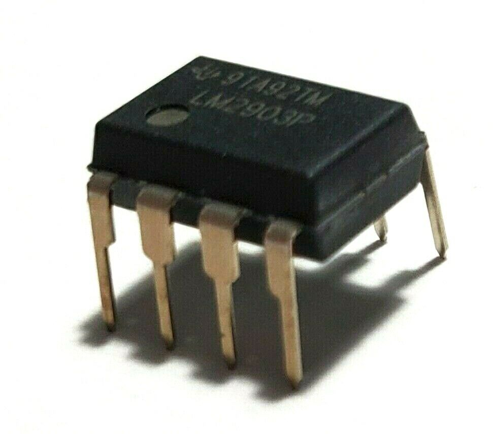 10x LM393P Komparator low-power 1,3us 2-36V THT DIP8 Komparatoren 2