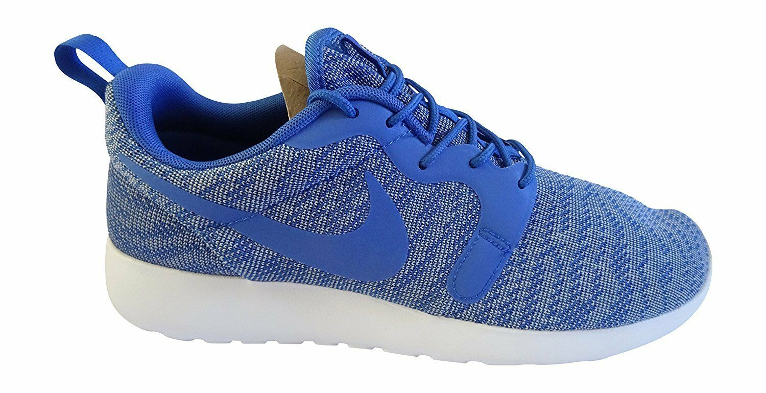 New Nike Men's Roshe One KJCRD Running Shoes Size 12 - Blue White