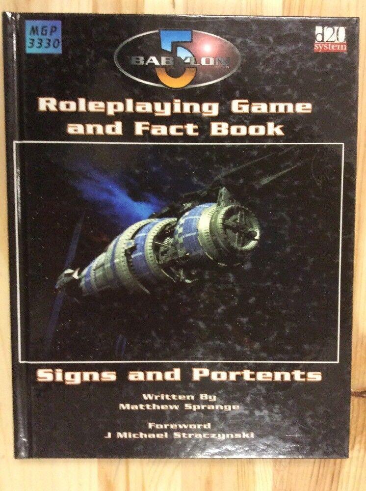 Babylon 5 RPG and Fact Book by Matthew Sprange  2003, Game