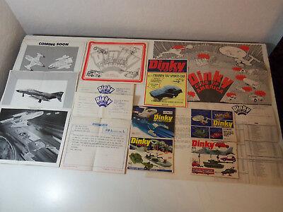 1970's Lotto Dinky Club Of America Specials Catalogs Certificato Flyer Cartine