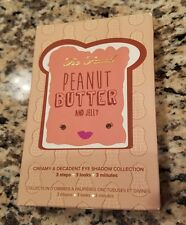 BNIB AUTHENTIC TOO FACED PEANUT BUTTER & JELLY EYESHADOW PALETTE RET $36 AMAZING