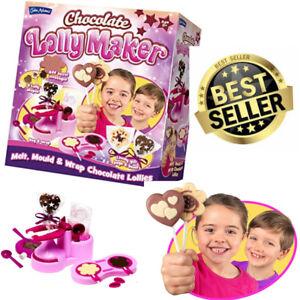 Details About John Adams Chocolate Lolly Maker Make Kids Lollipop Kit Set Christmas Gift Sweet