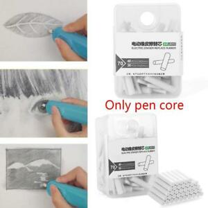 70Pcs-Handy-Electric-Battery-Operated-Pencil-Eraser-Rubber-Refills-Gift-Gifts