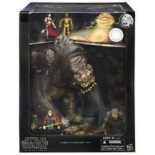 SDCC 2015 STAR WARS BLACK SERIES JABBA'S RANCOR PIT DELUXE FIGURE SET