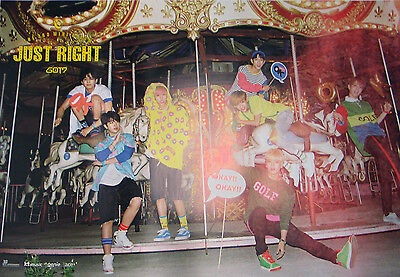GOT7 - Just Right (3rd Mini Album) OFFICIAL POSTER [Type-A]