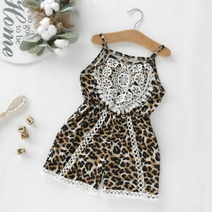 UK STOCK Kids Baby Girls Floral One-piece Romper Jumpsuit Outfits Summer Clothes