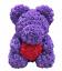 thumbnail 10 - 25cm 10inch Flower Rose Bear Gift Box option Mother's Day Valentine Anniversary