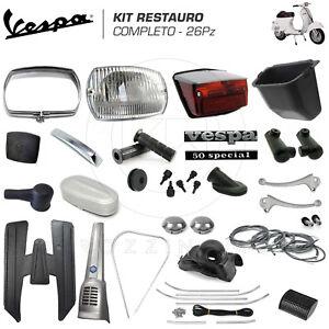 KIT-RESTAURO-COMPLETO-26pz-ACCESSORI-RICAMBI-PIAGGIO-VESPA-50-SPECIAL-3-4-MARCE
