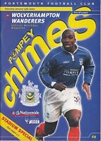 Portsmouth v Wolverhampton Wanderers Wolves 1999 / 2000 Division 1 - Jan 15th