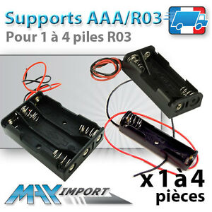 Support-pile-LR03-pre-cable-AAA-R03-Lots-multiples-prix-degressif