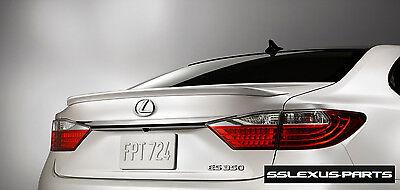 Lexus Genuine ES350 ES300H Rear Trunk Lip Spoiler Caviar Black 0223 2016