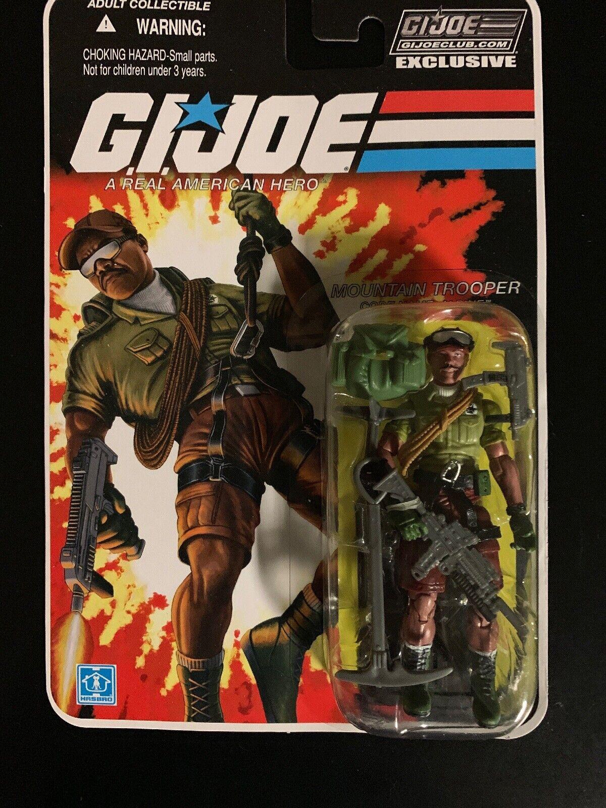 GI JOE FSS 3.0 08 Alpine Mountain Trooper MISP