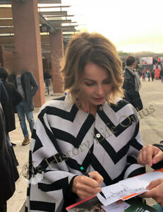 Violante-Placido-Andrea-Bosca-Foto-Autografata-Signed-Autografo-Cinema