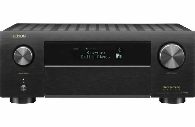 Denon AVR-X4700H 8K Ultra HD 9.2 Channel  AV Receiver 2020 M