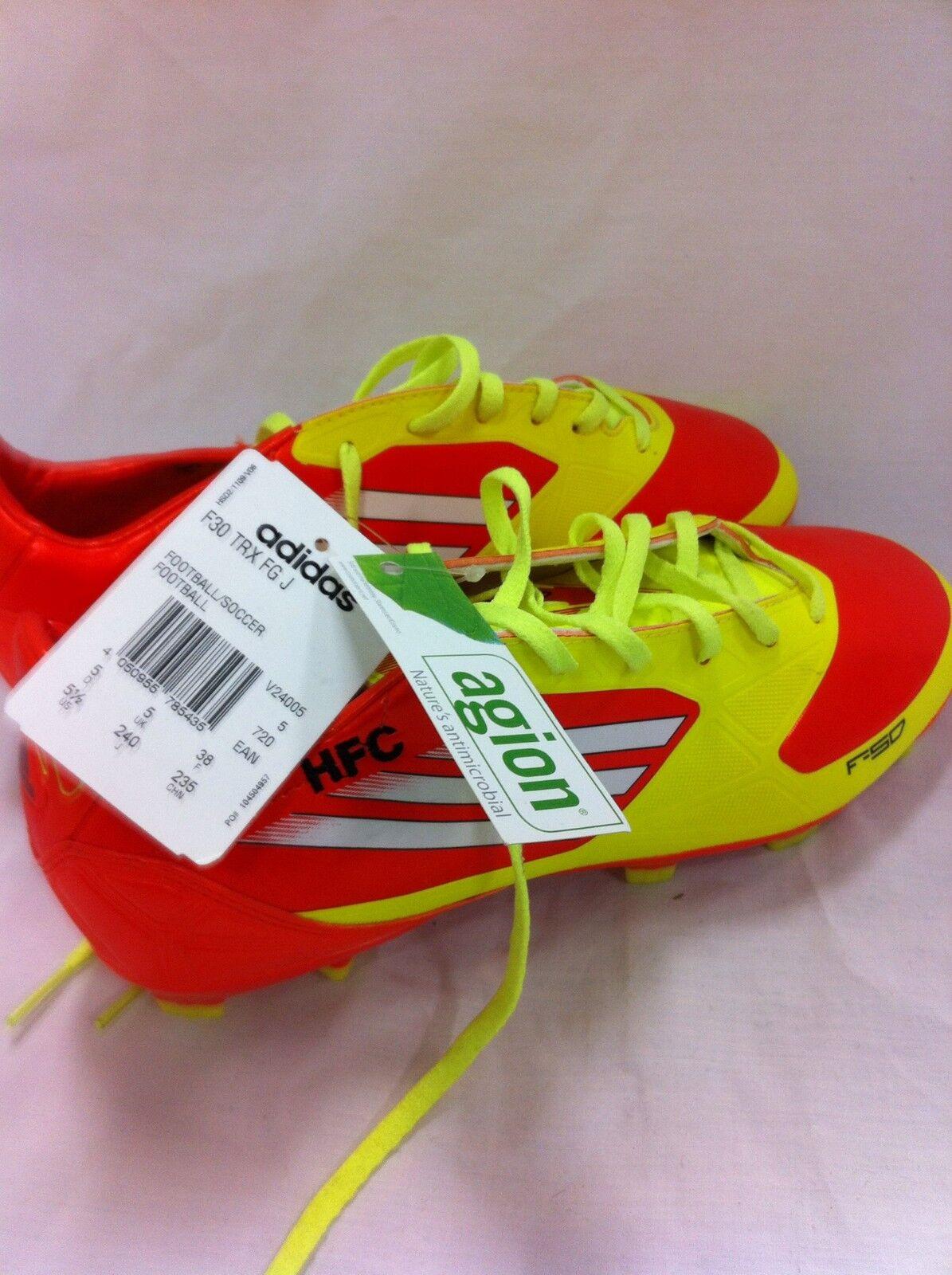 Addidas F50 Soccer Football stivali Leather Professional New