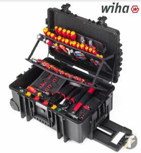 Wiha Xxl2 42069 115piece Electricians Toolcase Screwdrivers Pliers Cutters Etc