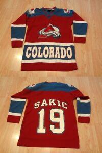 Vintage Colorado Avalanche Joe Sakic Jersey