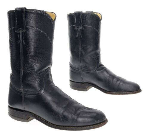 JUSTIN Cowboy Boots 6.5 B Womens Vintage LEATHER W