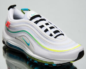 Nike Air Max 97 Le monde Homme Bleu Blanc Fury Lifestyle Shoes Casual Sneakers