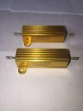 Pack Of 2 Cal R 30 Watt 5k Ohm 1 Tolorence Resistors