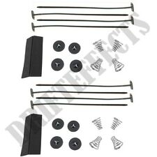 2X UNIVERSAL RADIATOR ELECTRIC FAN MOUNTING KIT STRAP TIES COOLING KIT free ship