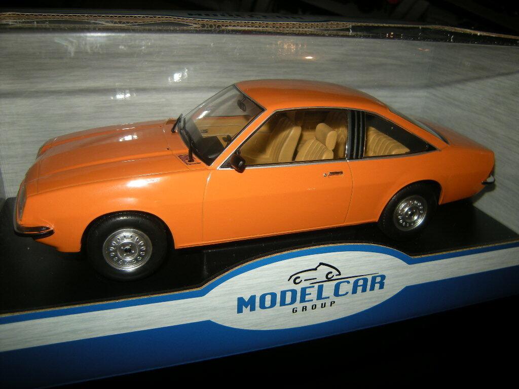 1 18 Model Car Group Opel Manta B Orange Nr. MCG18105 in OVP