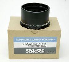 Sea & Sea Lens Gear For Nikon AF-S DX Zoom Nikkor ED 12-24mm In Housing. NEW Box
