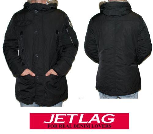 Lag Black uomo invernale calda Jet Rs 136 Parka Giacca da Giacca Black 5qza6zn