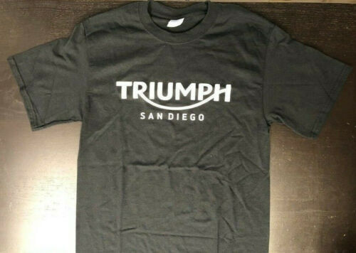 Triumph San Diego Men/'s T-Shirt Black