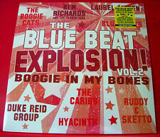 The Blue Beat Explosion 2 LP 180g Vinyl 2013 NEW SEALED Ska Laurel Aitken+