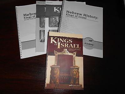 Kings of Israel  set homeschooling highschool A Beka book Bible 9th grade