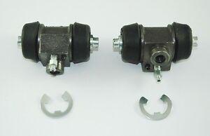 Classic Mini Cooper S Brake Wheel Cylinder X2 Rear Morris Leyland Clubman Moke