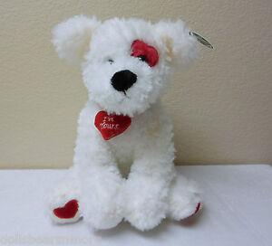 "MWT Bearington Bears ""SMOOCHIE POOCHIE""  Love/ Hearts Dog #190081"