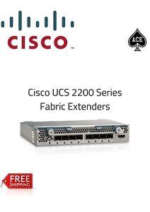 Detalles de Extensor de fabric Cisco UCS-IOM-2208XP - módulo de expansión 8  puertos para blades- ver título original